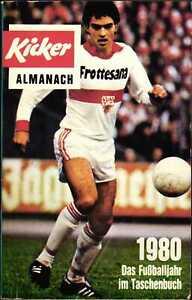 Kicker Almanach 1980 - Das Fußballjahr im Taschenbuch