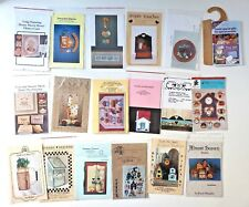 LOT Tole Painting Packet Patterns 16+ Apples Tulips Welcome Bird & Little Houses