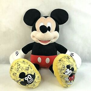 Build A Bear Disney 90 Years of Magic Birthday Mickey Mouse Plush Stuffed toy