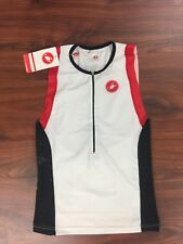 Castelli Men's Free Tri Top Size Large New with tags