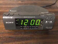 Sony Dual Alarm FM/AM Clock Radio ICF-C470MK2