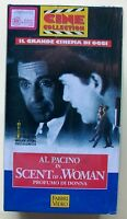 SCENT OF A WOMAN [vhs, Cine Collection, Fabbri Video]