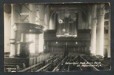 St. Maartensdijk  Interieur Ned. Herv. Kerk