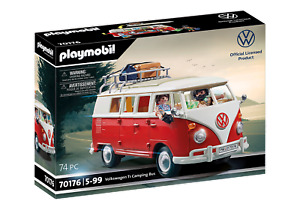PLAYMOBIL Volkswagen VW T1 Camping Bus (70176) 7E9087511A