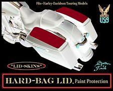 Hard Bag Lid Paint Protection Black Carbon Harley-Davidson bagger top