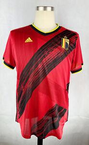 Adidas Women's 20/21 Belgium Home Soccer Jersey EJ8545 Size Large Retail $80