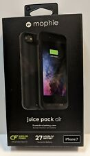 NEW Mophie Juice Pack Air Battery Case (Wireless) For iPhone 7 & 8 - Black