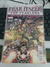 Fear Itself #3 The Fearless  2012 by Cullen Bunn Fraction COVER A 1ST PRINT