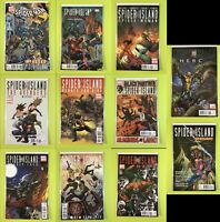 Spider-Island One-Shot Lot of 11 Limited Series Spiderman Marvel NM 9.4