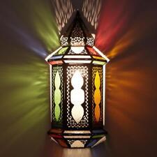 Aplique de Pared Oriental Colorido Marroquí Lámpara de Pared Lámpara Sabaya