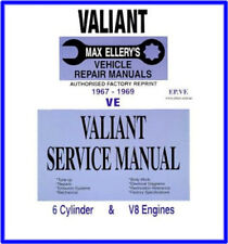 New Max Ellery Workshop Repair Service Manual Chrysler Valiant VE 1967-1969