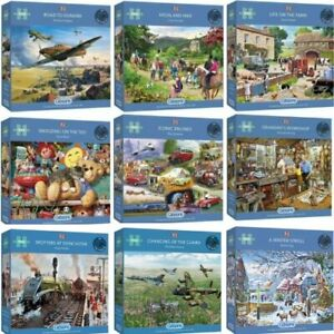 Gibsons 1000 Piece Jigsaw Puzzles Brand New | Large Selection | Over 40 Designs