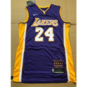 NWT Kobe Bryant #24 Los Angeles Lakers Purple Hardwood Classic Men's Jersey