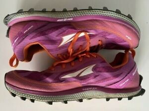 Altra Superior 3.5 Gaiter Trap Womens Size 8.5 Pink Orange Hiking Shoes Sneakers