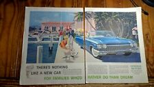 Boca Raton Hotel & Club Cadillac Sixty-Two Convertible in 1960 General Motors Ad