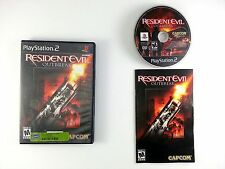 Resident Evil Outbreak game for Sony Playstation 2 PS2 -Complete