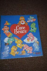 Panini Care Bears Sticker Album 70%-75% Complete Vintage Original