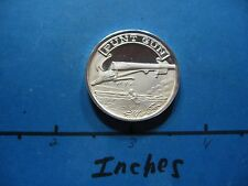 PUNT GUN USED BY MARKET HUNTERS FOR DUCK RIFLE GUN NRA 999 SILVER COIN RARE