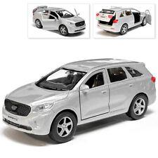 Kia Sorento Prime Metal Model Diecast Car Scale, Collectible Toy Cars, 1/36