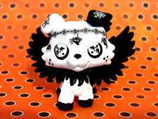 Littlest Pet Shop OOAK Collie Dog Halloween Inspired Spiders & Bats LPS Figure