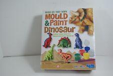 Mould & Paint Dinosaur Glow in Dark Fridge Magnets Badges Moulding Painting Kit