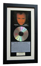 PHIL COLLINS No Jacket CLASSIC CD Album TOP QUALITY FRAMED+EXPRESS GLOBAL SHIP