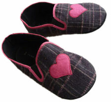 Canvas Slip - on Slippers Medium Width Shoes for Girls