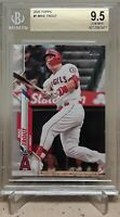 2020 Topps MIKE TROUT #1 BGS 9.5 POP 19 ANGELS