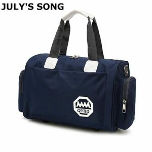 Women Shoulder Duffle Bag Fitness Weekend Sports Handbags Travel Large Capacity
