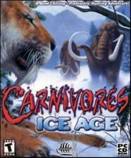 Carnivores Ice Age PC CD hunt prehistoric era animals wooly mammoth hunting game