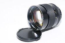 Excellent CONTAX Planar 85mm F1.4 AEG Lens Ref No 204