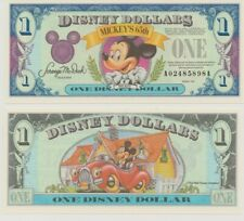 1993 A Series $1 Disney Dollar Mickey Mouse 65th Birthday Uncirculated