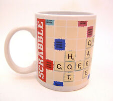 Scrabble Board Game Stoneware Coffee Cup Mug 2015 Hasbro China