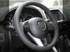PU Leather Steering Wheel Cover for Mazda 3 6 M6 CX-3 CX-5 CX5 2013-17(AU Stock)