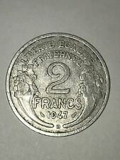 Pièce Ancienne - 2 Francs Morlon 1947 B - Ancient French 2 francs coin