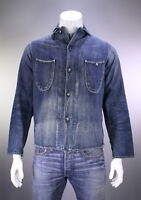 * KAPITAL * Japan Kiro Hirata Medium Wash Button Front Denim Jean Jacket~ Medium