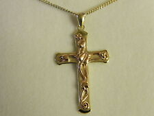 Clogau Welsh Gold Tree of Life Cross Pendant RRP £740.00