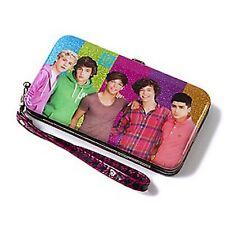 One Direction Glitter Smartphone Wristlet/Wallet - NEW