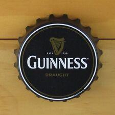Guinness Bottle Opener Fridge Magnet, Bottle Cap Style, Pop Off or Twist Off NEW