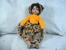 Geppeddo African American porcelain doll, Jamaican?