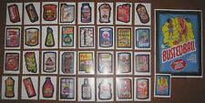 Wacky Packages Old School 1 base set of 33 + puzzle + promo