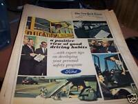 New York Times 1/16/1966 Ford & Good Driving Habits