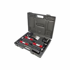 7PC CAR AUTO BODY PANEL REPAIR TOOL KIT WITH FIRBEGLASS HANDLES BEATING HAMMERS