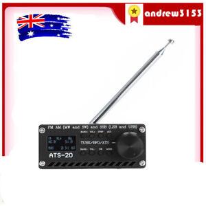 SI4732 All Band Radio Receiver FM AM (MW SW) SSB (LSB &USB) +Case+ANT &Battery