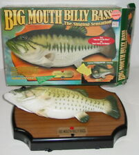 Big Mouth Billy Bass The Singing Fish Gemmy Original Box Excellent Condition