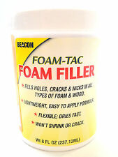 Beacon Foam-Tac Foam-Filler Fills Foam Nick & Cracks -EPP EPO Depron BluCor Wood