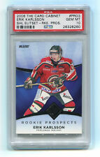 2008 Card Cabinet SHL PRO3 3 Erik Karlsson RC Rookie Card PSA 10 Gem Mint Pop 1