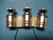 NOS VINTAGE 12 V 12v CIGARETTE LIGHTER KNOB PARTS HOT ROD  CUSTOM LOT OF 3 PCS