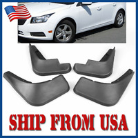 US 4Pcs Car Black Mud Flaps Splash Guards Fender For Chevy Cruze 2009-2016 FM