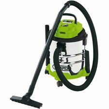 DRAPER 35569 - 20L Wet and Dry Vacuum Cleaner with Stainless Steel Tank (1250W)